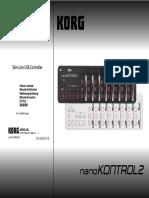 Manual NanoKONTROL2 Español
