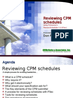 WCCC Review CPM Schedules With P3ec 5