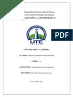 Analisis Sobre La Contabilidad de Gestion Valeria Zambrano