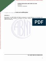 NBR 06123 - 1988 - Força Devido Aos Ventos