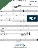 El Baile Del Oso - Piano