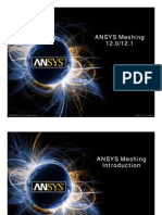 ANSYS12 Meshing Features