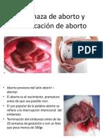 Amenaza de Aborto y Clasificación de Aborto-1