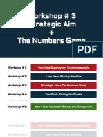 copy of workshop  3  presentation - swot business model canvas startup financial documents