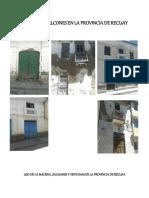 Puertas y Balcones en La Provincia de Recuay
