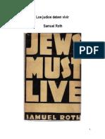 Los Judíos Deben Vivir - Samuel Roth