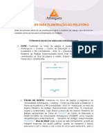 CCO7 Orientacoes Para Elaboracao Do Relatorio Est II