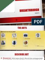 Class 12 (Unit 6) 2017-22 Breakthroughs