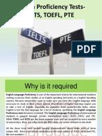 8 English Proficiency Testieltstoeflpte