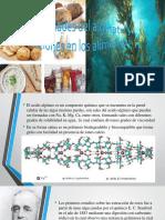 Propiedades del alginato y aplicaciones en los alimentos.pptx