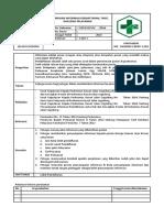 7.1.2.3 SPO Penyampaian Informasi pendaftaran, tarif, dan jenis pelayanan v.docx