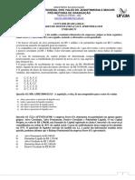 Estudo Dirigido Unidade IV Contabilidade Geral
