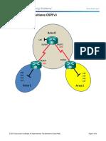 6.2.3.9 Lab - Configuring Multiarea OSPFv3
