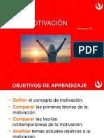 Semana 11 Unidad 5 Motivación