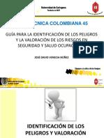 GUÍA TÉCNICA COLOMBIANA 45