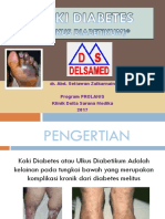 Ppt Penyuluhan Kaki Diabetes Prolanis Delsamed