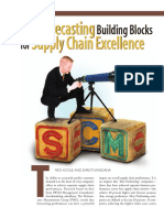 PRTM Three Forecasting Building Blocks