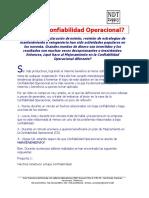 Articulo de Confiabilidad Operacional