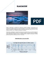 Trabajo de Geologia Glaciacion