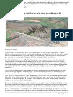 Matucana, Enjambre Sismico en Una Zona de Enjambre de Relaves Mineros [SERVINDI][2017!09!15]
