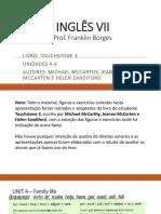 INGLÊS VII Units 4 - 6.pptx