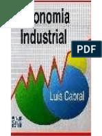 Economia Industrial. Luís Cabral
