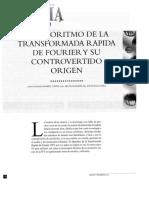 El Algoritmo de La FFT y Su Controvertido 1998