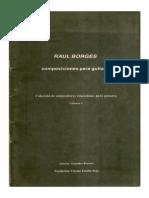 Libro de Raúl Borges.
