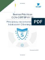 CCN CERT BP 01 16 Principios Basicos