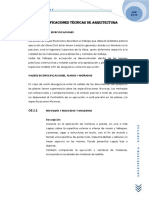 PRESENTACION - ARQUITECTURA