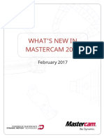 WhatsNew-Mastercam 2018