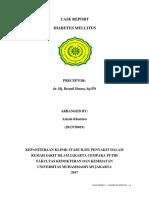 Case Report - Diabetes Mellitus