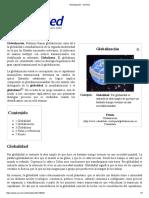 Globalización - EcuRed