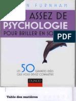 Juste assez de Psychologie pour briller en Société - Les 50 Concepts