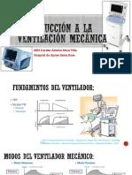 Introducción a La Ventilación Mecánica