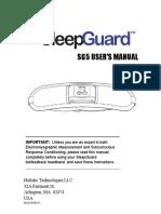 SleepGuard Manual SG5 RevK