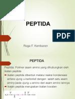 Week 2 - Peptida