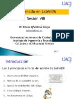 Arquitecturas de Programación (Sesion VIII)