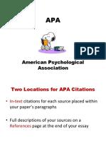 APA Introduction 2003