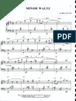 B Minor Waltz-Bill Evans