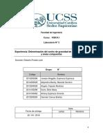 Laboratorio 3 - Determinación del centro de gravedad de áreas regulares y áreas compuestas