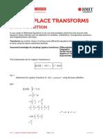 Laplace Transforms - Basic Definition
