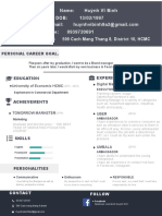 Business Growth Trainee_Huỳnh Vĩ Bình