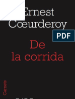 De la Corrida, d'Ernest Coeurderoy