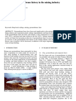 64061 Overview of Geomembrane History in the Mining Industry