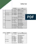 Daftar Fasdes Se Indonesia