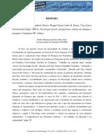 Resenha-Psicologia Social_perspectivas Críticas de Atuação e Pesquisa
