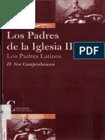 VON CAMPENHAUSEN, Hans (2001), Los padres de la iglesia, II. Padres Latinos. Madrid, Ediciones Cristiandad.pdf