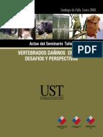 Vertebrados Exoticos Dañinos en Chile