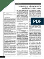 Implicacioes Tributarias de la Capitalización de Deudas.pdf